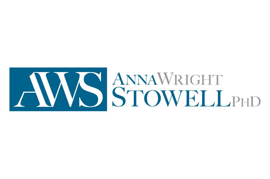 Logo design - Anna Wright Stowell, PhD. - Marina Wolf